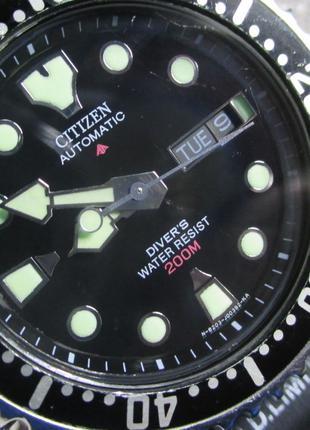 Citizen ProMaster Diver 200m Japan Automatic часы механические