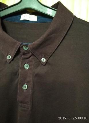 Поло рубашка футболка с длинным рукавом от kenzo