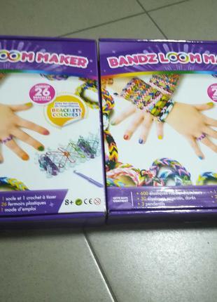 Станок bandz Loom резинки 600 шт для плетения браслетов Супер ...