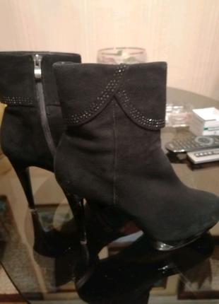 Демисезон Замш-кожа ботинки Италия