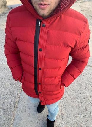Классная зимняя куртка мужская