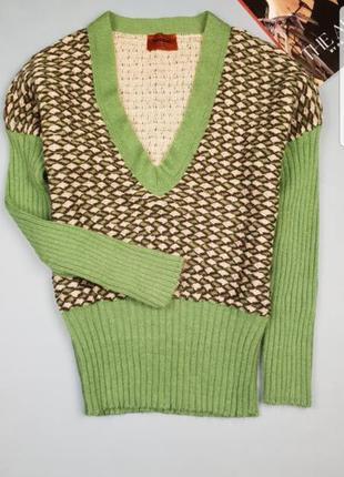 Шерстяной свитер/джемпер missoni p.s/m