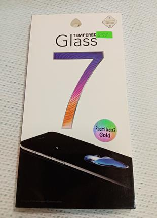 Защитное стекло для Xiaomi redmi note 3 gold