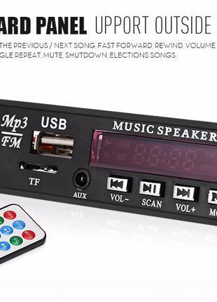 Автомобильный цифровой светодиодный 12 V Авто MP3 плеер