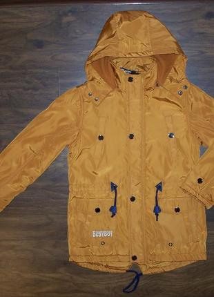 Куртка парка демисезонная для мальчиков 134-158 Венгрия