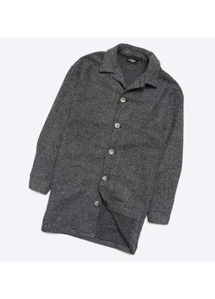 Reclaimed vintage m / стильное текстурное оверсайз пальто. осе...
