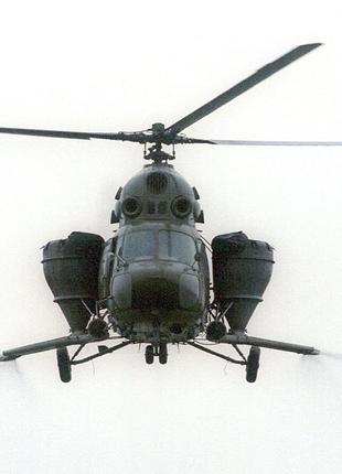 Внесение аммиачной селитры вертолетом и самолетом