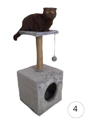 Когтеточка для кота игровой комплекс