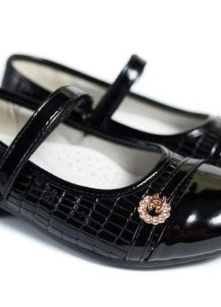 Туфли школьные, деми, размеры 27-30, туфельки на девочку
