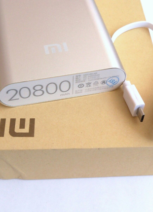 Xiaomi Mi Power Bank 20800 mAh Павербанк Батарея