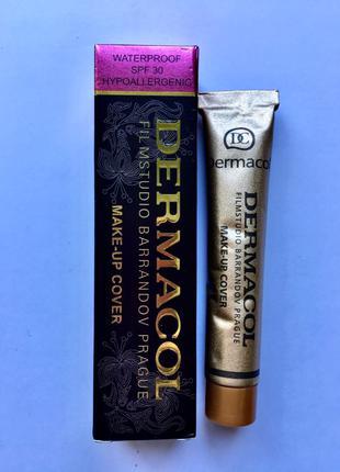 Тональный крем Dermacol Make-Up Cover с высокими маски-свойствам