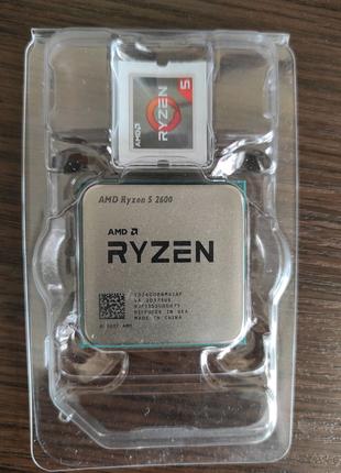 Процесор AMD Ryzen 5 2600, AM4, Tray