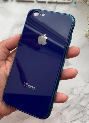 Стекляный чехол glass case  для iphone