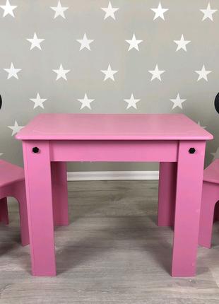 Стол и стул, стол и стульчики, детский столик и стульчик