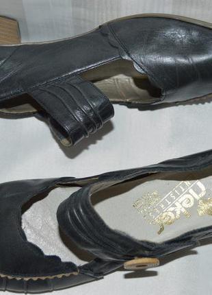 Туфли босоножки кожа rieker размер 42, туфлі босоніжки шкіра
