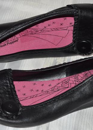 Туфли балетки hush puppies кожа размер 43 42, туфлі балетки