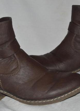 Ботинки сапожки rieker зима размер 42 41, черевики ботінки