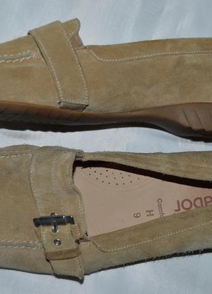 Мокасины балетки gabor размер 42 (9) 43, туфли мокасіни