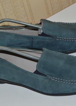 Мокасины лофери балетки кожа hassia размер 42 (8) 43, туфли мо...