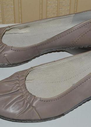 Туфли балетки мокасины ara німеччина размер 42 8 43, туфлі бал...