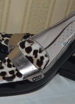 Туфли лофери мокасины boden размер 42 8 43, туфлі балетки мока...