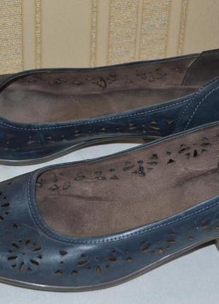 Туфли балетки мокасины jenny кожа  німеччина размер 42 8 43, т...