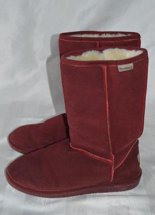 Угі замшеві, угги , ботинки bearpaw розмір 40 41