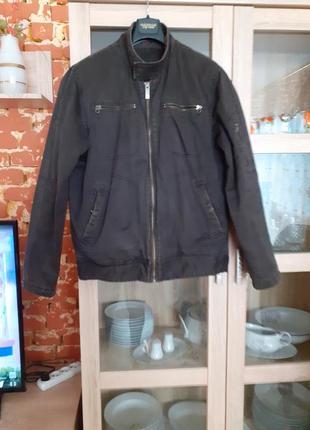 Крутая теплая натуральная куртка s.oliver