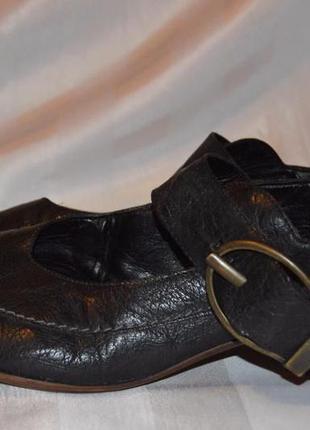 Туфлі шкіряні rieker розмір 42, туфли кожание размер 42