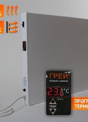 ГРЕЙ-500КТ, обогреватель инфракрасный, с терморегулятором
