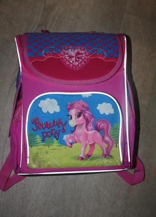 Рюкзак школьный ортопедический для девочки ,отличное