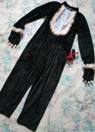 Костюм котика кошечка киця карнавальный костюм