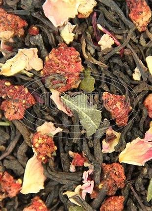 Чай Пуэр клубника 500 г