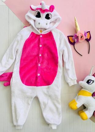 Кигуруми пижама домашний костюм единорог