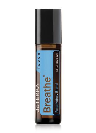 DōTERRA Breathe® Touch «Дыхание», смесь масел, роллер, 10 мл