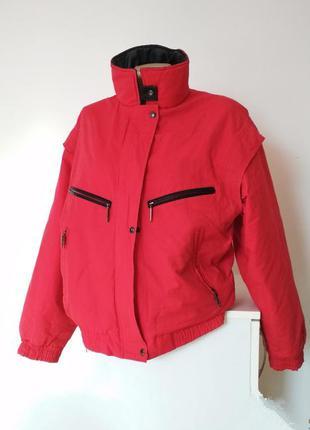 Курточка красная happytime куртка червона спортивная спорт дву...