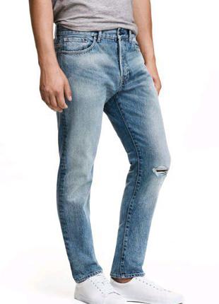 H&m джинсы мужские
