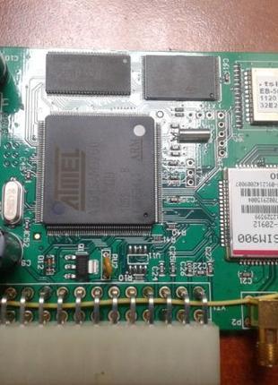 Gps-трекер(Atmel AT91, SIM900)