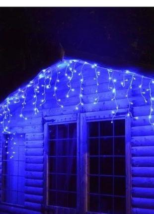"Гірлянда вулична ""Бахрома"" 19 м 500 LED. 3 кольору. Польща"