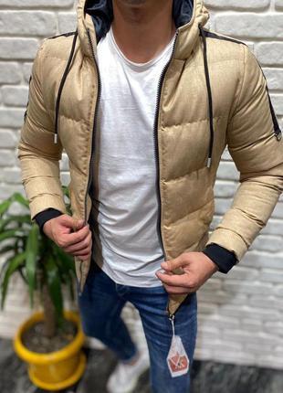 Куртка мужская стеганая турция / курточка чоловіча стьобана пу...