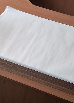 Силіконізований папір для випічки біла у листах 400х600 мм 500л.