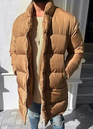 Куртка мужская стеганая удлиненная турция / курточка чоловіча ...