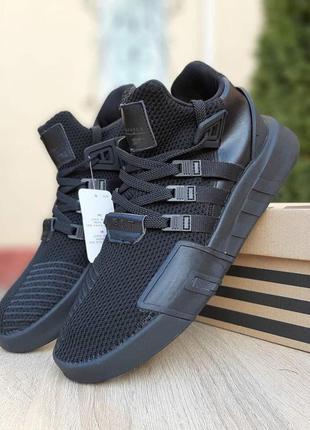 Мужские кроссовки adidas eqt bask adv черные скидка 42, 44 раз...