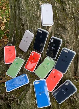 Силиконовие чехли Iphone 7Plus/8Plus,X/XS  накладка case