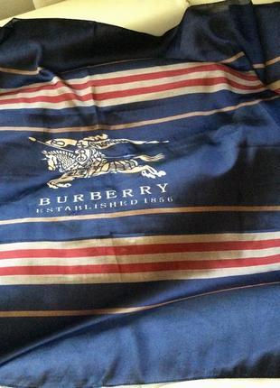 Большой шёлковый палантин burberry