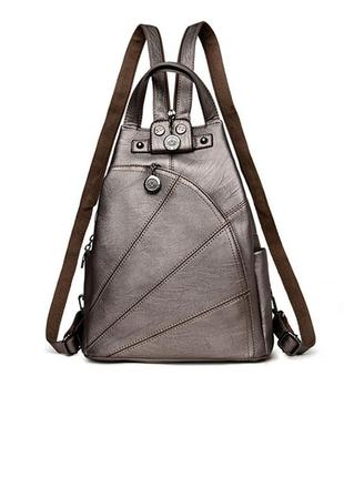 Рюкзак сумка (трансформер) женский городской из экокожи для де...