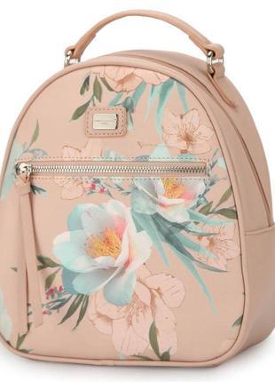 Рюкзак городской женский с цветами david jones