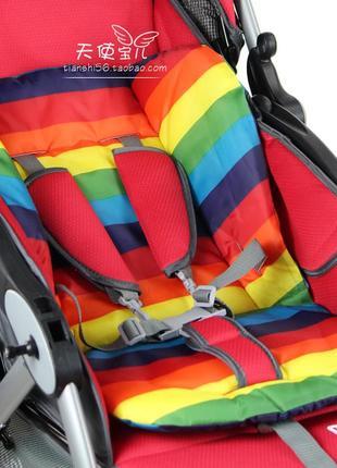 Матрас матрасик вкладыш чехол в детский стульчик коляску авток...