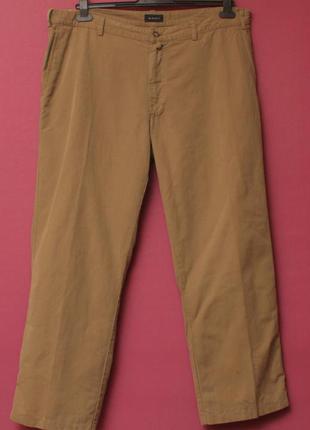 Gant рр 40 32 брюки из хлопка и льна