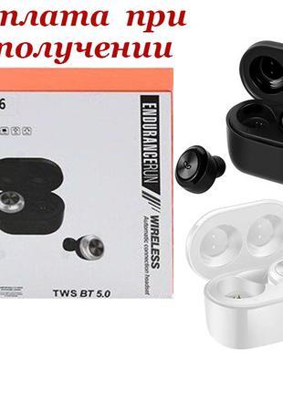 Беспроводные вакуумные Bluetooth наушники гарнитура Air Twins ...
